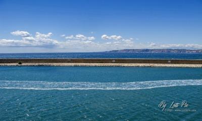 Marseille Les trois Bleus de la jetée