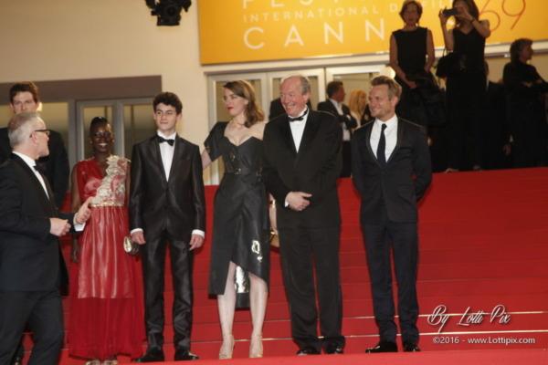 Adèle Haenel et Jean-Pierre Dardenn Cannes 2016