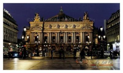 Opéra Garnier, Paris.
