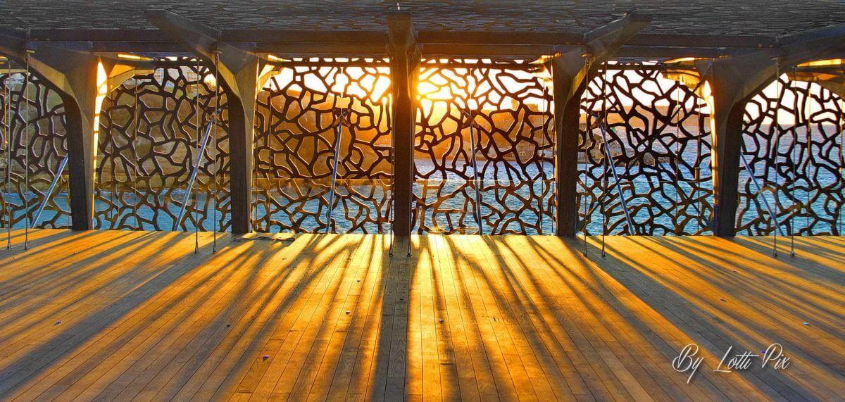 Couche de Soleil au Mucem By Lotti Pix